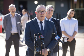 NSW Health Minister Brad Hazzard said NSW hopes to get more than 500 front-line healthcare workers in Sydney involved in the trial.