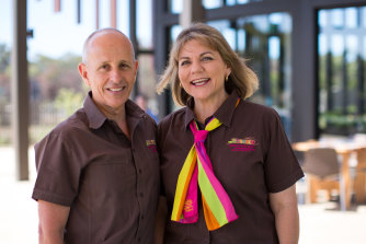 """It's a disaster"": Ian and Leanne Neeland of the Great Ocean Road Chocolaterie & Ice Creamery."