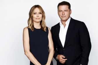 Today hosts Allison Langdon and Karl Stefanovic.