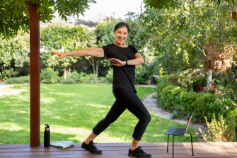 Narelle Nash is now streaming her Zumba classes from home.