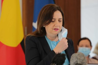 Queensland Premier Annastacia Palaszczuk has announced strict new border measures for essential workers.