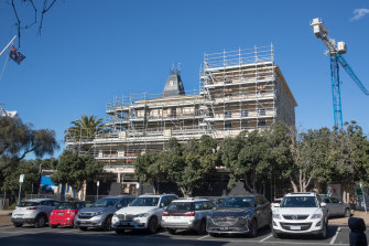 The Continental Hotel was one of the assets LBA Capital looked to purchase with money raised for NDIS housing.