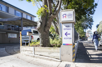 The remaining residents at the Summer Hill aged care facility have been moved to hospital.