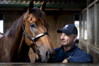 Kris Lees thinks Mugatoo will be suited by the big field and tight track in the Doomben Cup