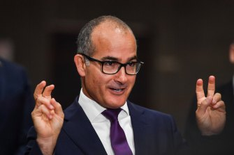 """One MP said Mr Merlino """"can't sit and watch union leaders putting his colleagues under threat""""."""