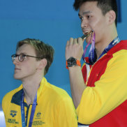 Mack Horton gets standing ovation after Sun Yang snub