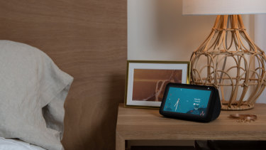 The smaller Echo Show will be much more at home on a bedside table.