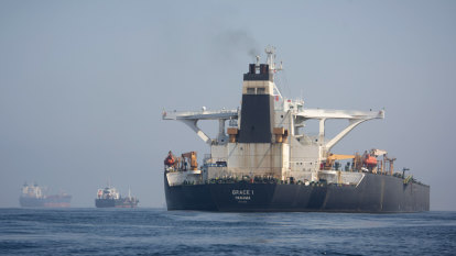Gibraltar releases Iranian supertanker despite US plea
