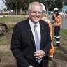Morrison funded 27 car parks just one day before he called the election