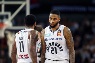 Shawn Long led his side with 18 points in his 50th NBL game but United could not come up with a win against the Breakers.