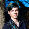 Griff Bondrum, a maths whizz, is the state's youngest HSC student