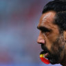 'Did I do enough to help out a mate': Swans players react to Goodes treatment