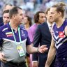 Fyfe says post-Lyon Freo must stop falling 'off the cliff'