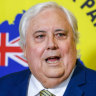 Don't fall for wrecking-ball Clive Palmer