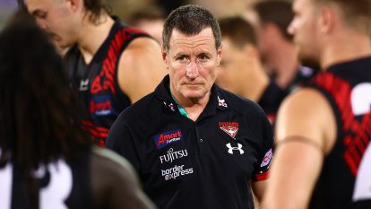 End of an era: Worsfold's time in the hot seat at Essendon