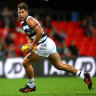 Tom Hawkins proved all but unstoppable for the Cats, kicking six goals against Port Adelaide.