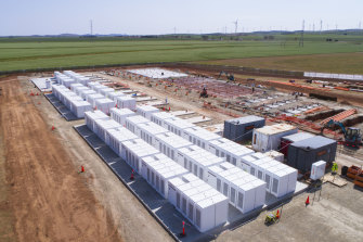 Synergy's Kwinana battery will be bigger than the Tesla  'big battery' in South Australia.