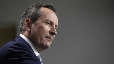 WA Premier Mark McGowan has taken a hardline approach to his state's borders.