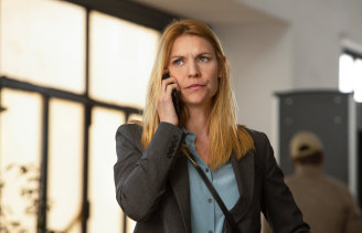 Claire Danes plays CIA agent Carrie Mathison in Homeland, the final season of which is airing now.