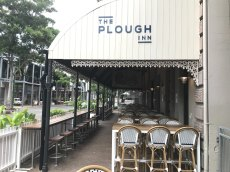 The Plough Inn pub is closed at South Bank.