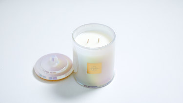 Glasshouse's Sweet Enough Rich Salted Caramel Candle.