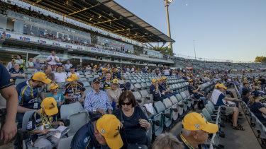 The Brumbies are begging fans to support the team against the Sharks at Canberra Stadium on Saturday night.