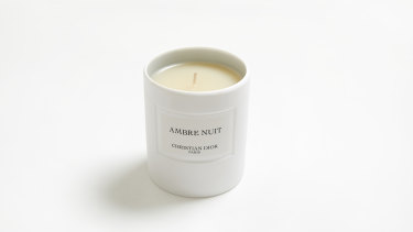 Christian Dior Ambre Nuit Candle.