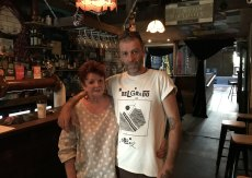 Robyn and Jamie Simmonds – co-owners of West End's Bearded Lady –  say the new four-square-metre rule is ridiculous for small venues and will force them to close.