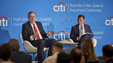 Peter Costello at the Citi Investment conference.