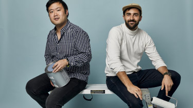 Tint co-founders Rocky Liang (left) and Djordje Dikic.