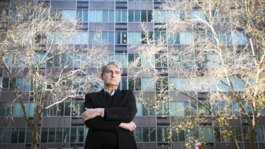 Architect and Docomomo Australia president Scott Robertson wants the MLC building saved from demolition.