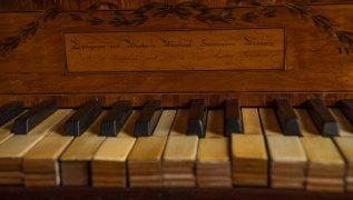Brian Barrow's piano.