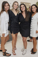 Co-founder Angela Aspradakis, Catia Mollinari, Mariana Faria and fellow co-founder Virginie Pepin.