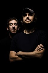 Atlassian founders Scott Farquhar and Mike Cannon-Brooke.