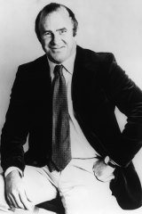 A young Clive James as an Australian journalist and television presenter.