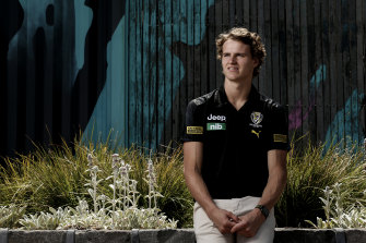 Thomson Dow will learn from Richmond's midfield maestros Dustin Martin and Trent Cotchin.