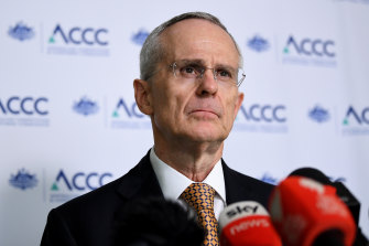 ACCC boss Rod Sims has said he's seen no sign of price gouging across Australian supermarkets.