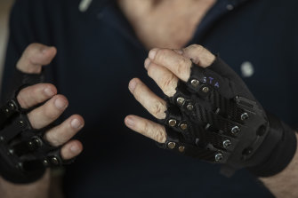 """The """"extension gloves"""" cost only $175 to build."""