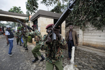 Kenyan security forces have been battling al-Shabab for years.