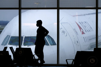 Delta Air Lines was one of several companies hit by the internet outage.