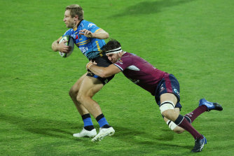 Liam Wright's return to the captaincy coincided with Queensland's first loss of the season.