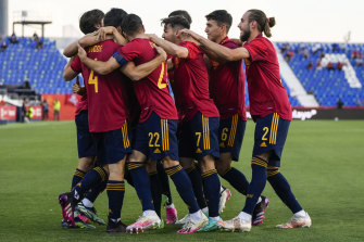 Spain's under-21 side were forced to stand in for the senior team after an outbreak of COVID-19.