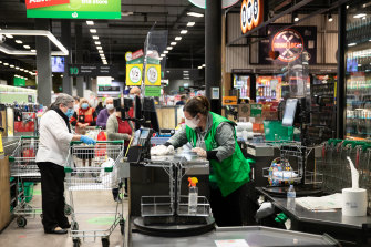 135,000 staff working at Woolworths and Big W will get the 2.5 per cent bump to their pay next month, ahead of the deadline.