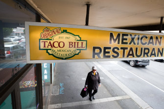 Taco Bill has launched legal action against Taco Bell's expansion plans.
