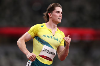 Rohan Browning's win in the 100m heat in Tokyo excited the nation.