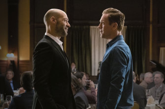 Damian Lewis and Corey Stoll in Billions.
