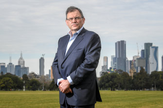 University of Melbourne vice-chancellor Duncan Maskell.