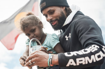 Patty Mills wants to promote healthy lifestyles, cultural awareness and find new basketball stars with the IBA.
