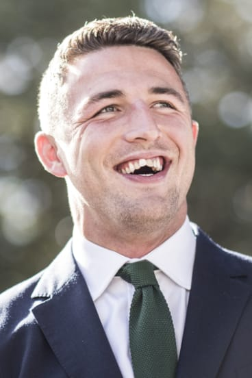 Million-dollar man: Burgess is proud he hasn't made his contract negotiations about the money, but is being well rewarded for his star status.