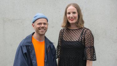 Antony Hamilton and Kristy Ayre.